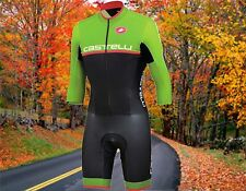 Castelli Cross Sanremo Thermoflex Cyclocross Cycling Speedsuit Men's 2XL Nwt