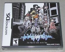 The World Ends With You for Nintendo DS Brand New! Factory Sealed!