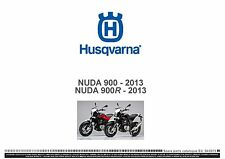 Husqvarna Parts Manual Book 2013 NUDA 900 & 2013 NUDA 900R