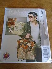 """PATRON  """"McCalls """"  SACS POUR BEBE  FOURRE-TOUT / RANGEMENT A LANGER N° 6617"""