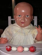 "Grand celluloid 21"" baby doll made in japan"