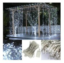LED String Curtain Lighting Christmas Lights Indoor Outdoor Holiday Home Decor