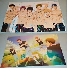 Free! Eternal Summer Double Sided B2 Poster Sexy Anime Boy