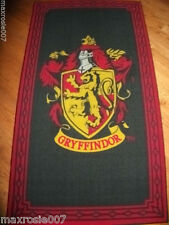 Harry Potter GRYFFINDOR Non-Skid Area Rug HOUSE RUG 1-TIME $0=SHIP Authentic PCE