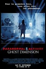 PARANORMAL ACTIVITY 5 - GHOST DIMENSION Affiche 120x160cm - neuve Pliée