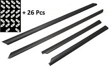AUDI A4 B5 95-01 Lower Bottom doors trims protective rubber 4pcs +26 pcs clip
