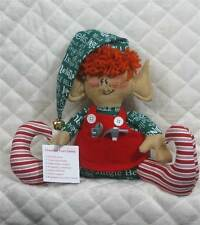 "Primitive Raggedy Christmas ""Gus, the List Checker"" ELF~PATTERN #71"