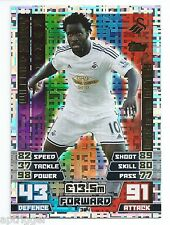 2014 / 2015 EPL Match Attax Man of the Match (394) Wilfried BONY Swansea