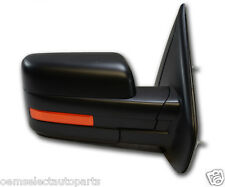 NEW OEM 2011-2013 Ford F-150 Power Adjustable, Heated Mirror RIGHT - Black