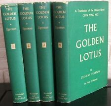 The Golden Lotus: A Translation, from the Chinese of  Chin P'ing Mei (4 Vol set)