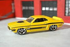 Hot Wheels '71 Dodge Challenger - Yellow - Loose - 1:64