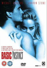 BASIC INSTINCT - DVD - REGION 2 UK