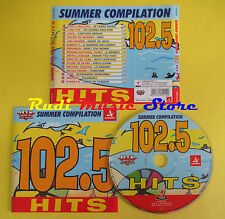 CD 102.5 HITS SUMMER compilation 2000 LUNAPOP AQUA MIRANDA JOSE no lp mc (C13*)