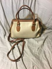 VTG COACH BONNIE CASHIN BROADWAY SPEEDY DOCTOR Beige Brown LEATHER Bag RARE USA