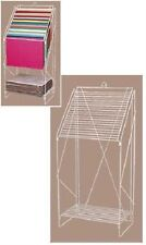 """Rack Wire Tissue Paper 20 Slot Display Holder 23""""W x 15½""""D x 49""""H Gift Wrap"""