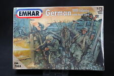 YT036 EMHAR 1/72 maquette figurine EM7203 German Infantry with tank crew WWI