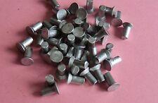 Senknieten 50 Stück Alunieten Vollnieten Nieten DIN 661  3x6