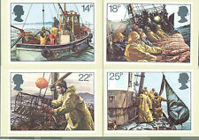 GB 1981 PHQ Cards - Complete Set - FISHING - Unused MINT