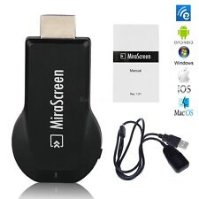 AnyCast Miracast MEDIA PLAYER TV STICK PUSH DONGLE FOR Smartphones Chromecast