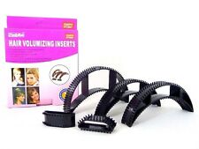 5 Pcs Hair Volumizing Inserts Hair Pump Set Bump it its BLACK