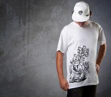 Mens T Sofles VC clothing graffiti t shirt, Size Large, 100% cotton preshrunk