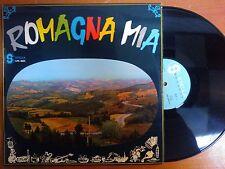 DISCO LP 33 GIRI VINILE - ROMAGNA MIA - TRIO VANELLI - STELLA RECORDS 1966 VG+