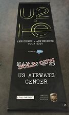 u2 iNNOCENCE + eXPERIENCE tour street banner from Phoenix concerts May 22-23