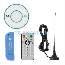 Digital RTL2832U+R820T2 DVB-T SDR+FM+DAB USB 2.0 HDTV TV Tuner Receiver Stick