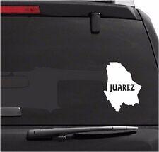 Car Decals. Wall Decal. Laptop Decal... Mapa Juarez, Mexico.  Map