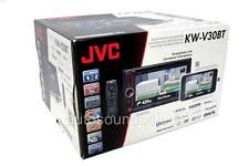 """JVC KW-V30BT Double DIN DVD/CD Player 6.1"""" LCD Android iPhone Bluetooth SiriusXM"""