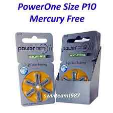 Varta PowerOne P10 Hearing Aid Battery mercury free (60 count) Expire 11/2018