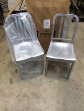 Siren Aluminum Chair Model 850 NEW- 2 chairs 1 price! Restaurant-Outdoor DA
