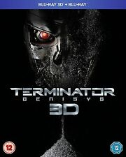 TERMINATOR GENISYS 3D Blu ray SEALED/NEW The Film/Movie genesis 5053083054496 5