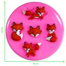 Mr Fox 'You're so Foxy' Silicone Mould by Fairie Blessings