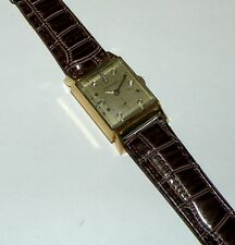 Vintage  Original  Longines 14K Solid Gold Diamond  Dial Watch LOT111