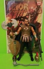 "Marvel Legends Thor ""RAGNAROK"" Custom EXECUTIONER+ ""GREAT COVER""+ MANY WEAPONS"