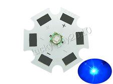100pcs 20mm 1W-3W High Power Cree XPE Royal Blue 450nm~455nm LED Light Lamp Chip