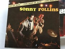 OUR MAN IN JAZZ SONNY ROLLINS - SLIP CASE RARE CD FAST POST