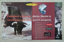 D559 - Advertising Pubblicità - 1997 - RENAULT MEGANE NUOVO MOTORE TURBODIESEL