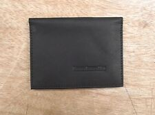 Lambretta logo Black Leather wallet credit card size, licence / ID holder vs933