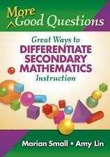 More Good Questions: Great Ways to Differentiate Secondary Mathematics-ExLibrary