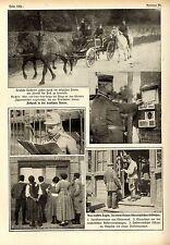 Feldpost im 1.Weltkrieg * 5 historische Aufnahmen aus dem August 1914