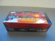Very rare BANDAI NEON GENESIS EVANGELION CARDDASS MASTERS Wide Part1 1997 BOX
