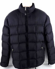 LL Bean Goose Down Black Puffer Jacket Regular Fit Men's Size M