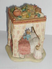 Original Border Fine Arts, Extremely Rare, Brambly Hedge, THE CANOPY BED, SUPERB