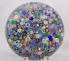 Gorgeous SAINT LOUIS Colorful PERSIA Cascading MILLEFIORI Glass PAPERWEIGHT