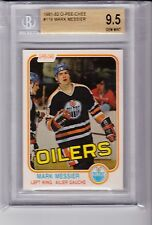 1981-82 O-PEE-CHEE #118 - Mark Messier - 2nd Year - BGS 9.5 GEM Mint - Oilers