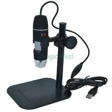 S02 1X-500X 2.0MP Digital USB Adjustable Microscope Camera Vidio Endoscope Stand