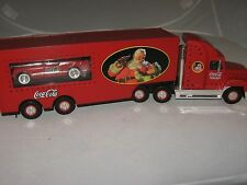 """Coca Cola-Toy Truck-1999 Holiday Classic Carrier-includes 53 Corvette-15"""""""