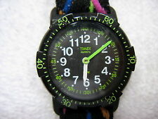 TIMEX BLACK LADIES KIDS EASY READER WATCH WATER RESISTANT FREE SHIPPING
